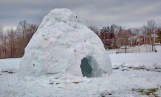 How to build an Igloo, survive a blizzard, finish your