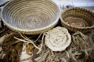 A variety of beautiful baskets