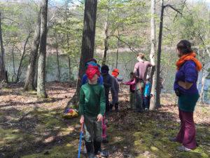 The blindfolded challenge!