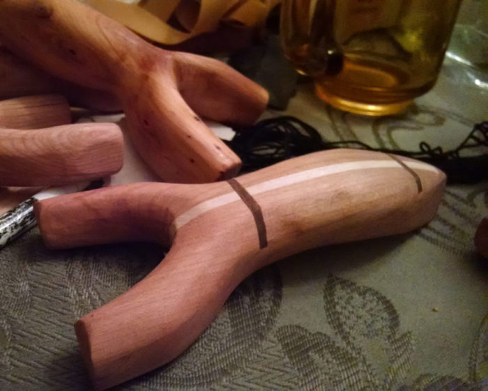 Hand Tool Woodworking: Making a Slingshot