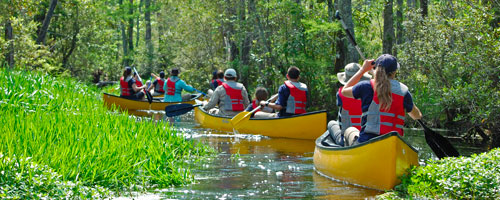 Ropes: 4-Day Canoe Adventure for High School Teens